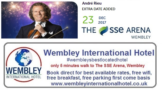 Andre Rieu additional date Wembley 2017