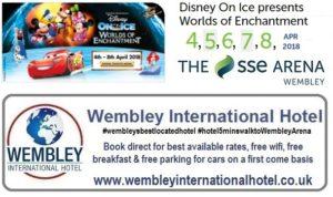 Disney On Ice Wembley 2018