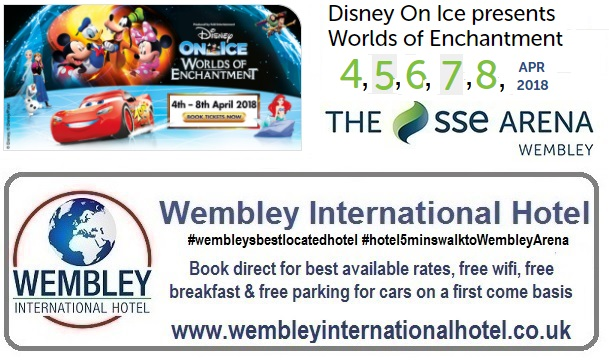 Disney On Ice Wembley 2018