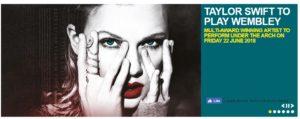 Taylor Swift Wembley 2018