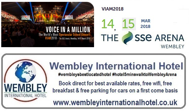 Voice in a Million Wembley 2018