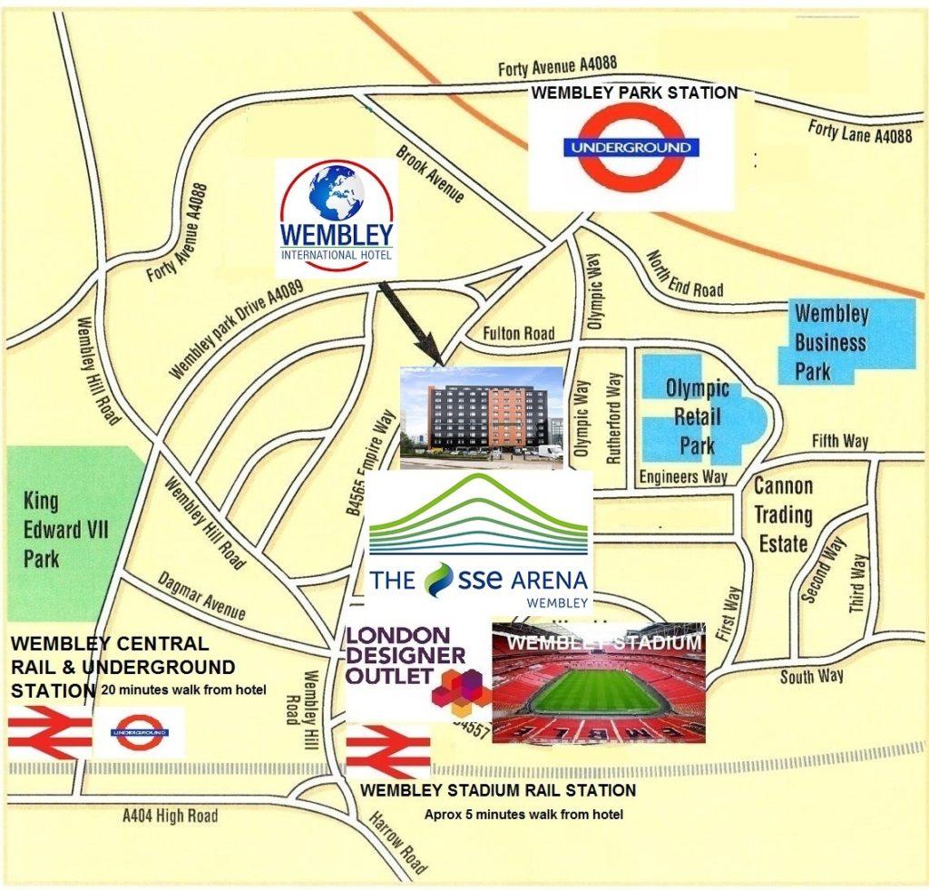 SSE Wembley Arena Hotels