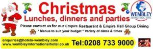 Wembley Christmas venue