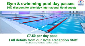 Wembley swimming pool