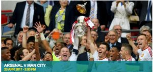 FA Cup Semi Final Arsenal v Man City 2017