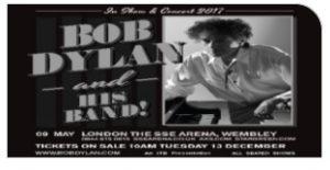 Bob Dylan Wembley Arena