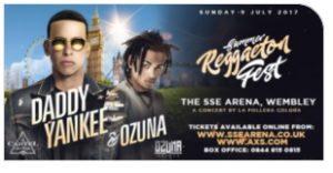 Daddy Yankee and Ozuna Wembley Arena