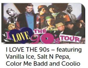I Love the 90's Tour Wembley 2017