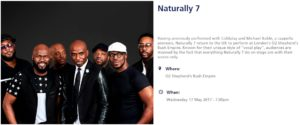 Naturally 7 London 2017