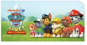 Paw Patrol Live Wembley Arena 2017