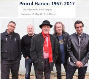 Procul Harum London 2017