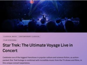 Star Trek live in London