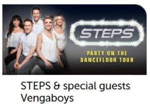 Steps and Venga Boys Wembley Arena
