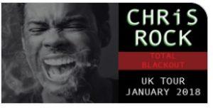 Chris Rock SSE Wembley Arena 2018 Tour