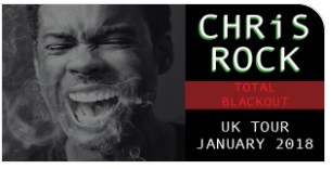 Chris Rock SSE Wembley Arena 2018 Tour