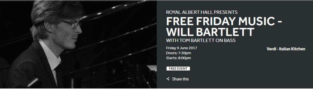 Free music London
