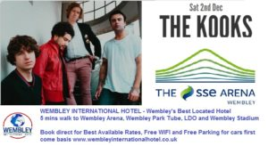 The Kooks Wembley Arena Tickets and Info