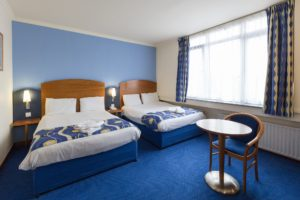 London hotel low cost room