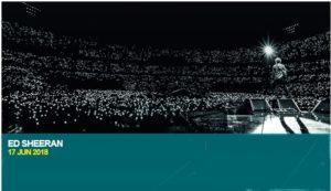 Ed Sheeran Wembley Stadium a
