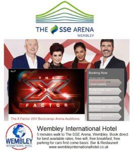 X Factor Wembley 2017