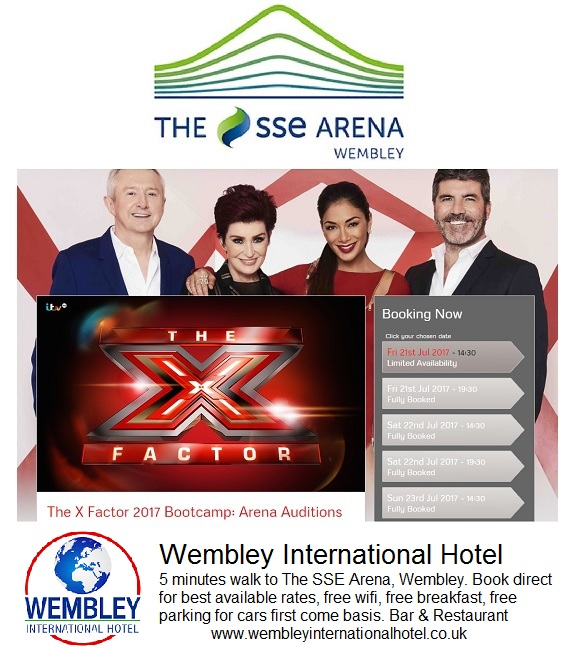 X Factor Wembley 2017