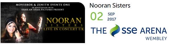 Nooran Sisters Wembley 2017