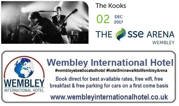 The Kooks at The SSE Arena, Wembley