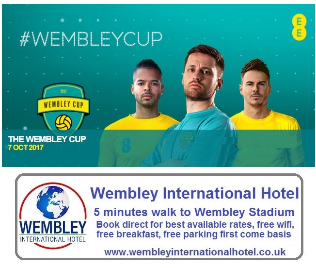 Wembley Cup 2017 tickets and info