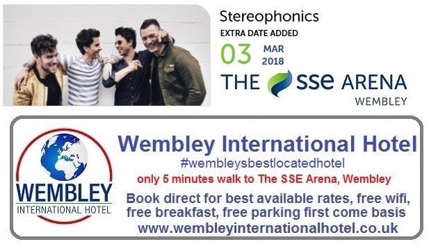 Stereophonics Wembley 2018