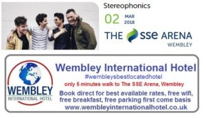 Stereophonics at The SSE Arena, Wembley