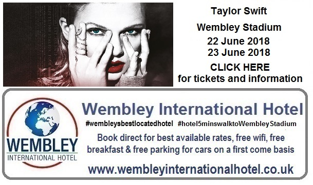 Taylor Swift Wembley Stadium