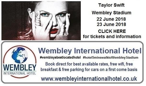 Taylor Swift Wembley Stadium