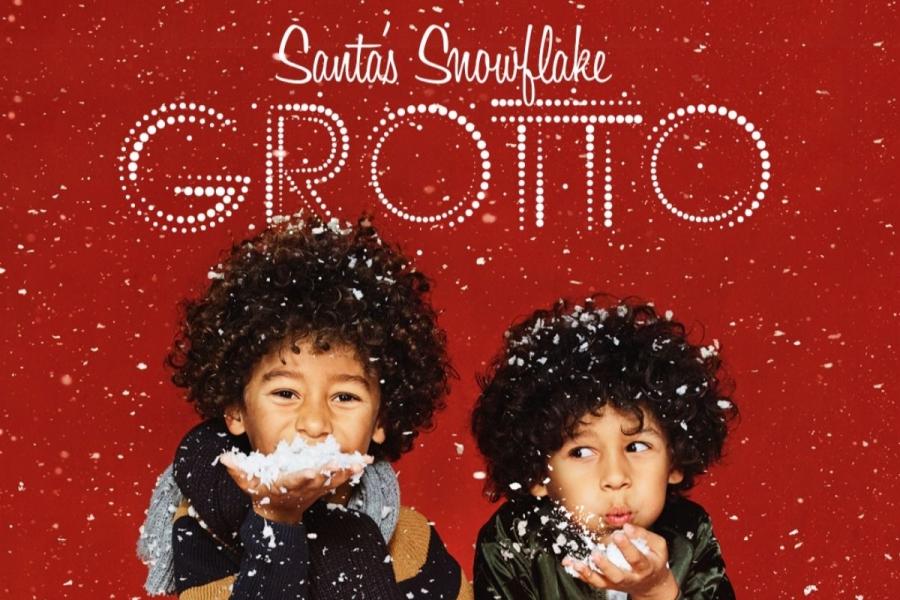 Santa's Snowflake Grotto at London Westfield Shopping Centre