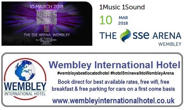 1Music 1Sound Wembley 2018