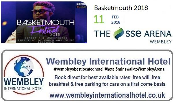 Basketmouth live Wembley Arena 2018