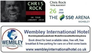 Chris Rock at the SSE Arena, Wembley