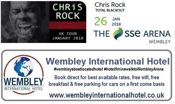 Chris Rock at the SSE Arena, Wembley