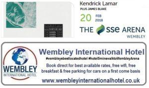 Kendrick Lamar Wembley 2018