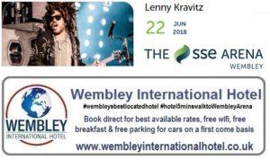 Lenny Kravitz Wembley 2018