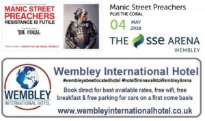 Manic Street Preachers Wembley 2018