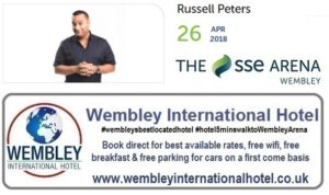 Russell Peters at The SSE Arena, Wembley
