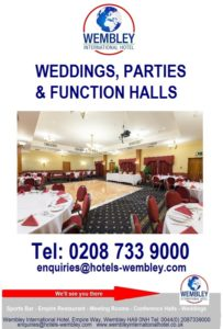 Wedding halls Wembley