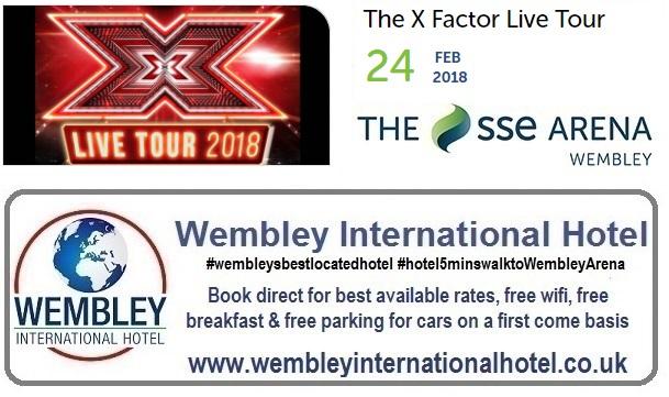 X Factor Live Tour Wembley 2018