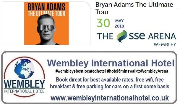 Brian Adams Wembley 2018