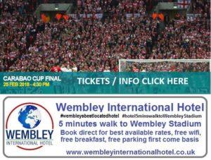 CARABAO CUP FINAL 2018 Wembley