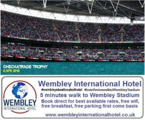 Checkatrade Trophy Wembley Stadium