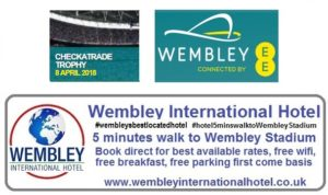 Checkatrade Trophy Final Wembley 2018