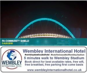 Community Shield Wembley 2018