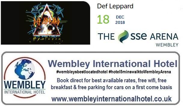 Def Leppard Wembley 2018