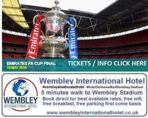 FA Cup Final Wembley 2018